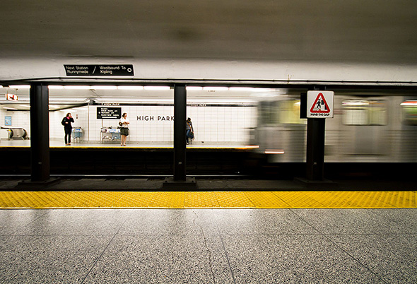 TTC Late Night subway service