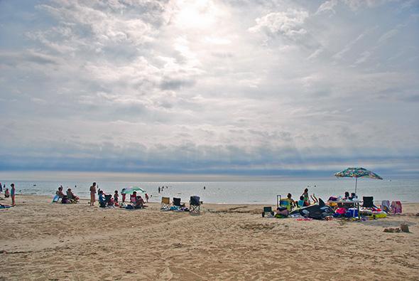 Beach escapes toronto