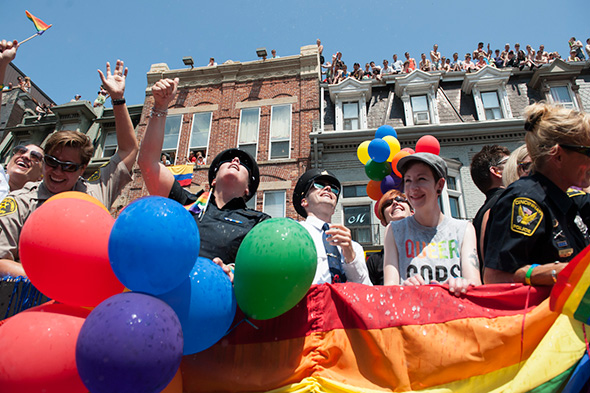 World Pride Parade Toronto