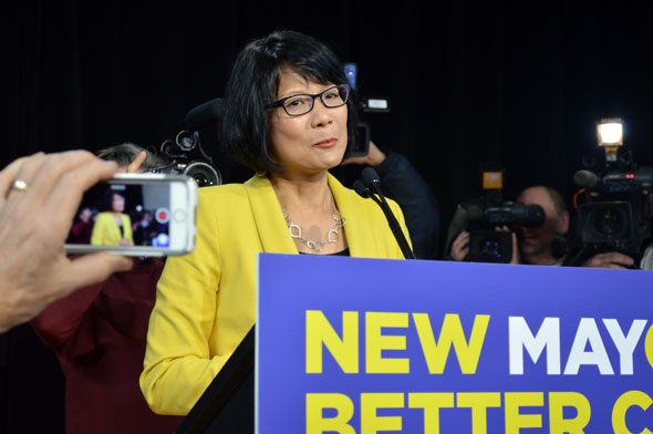 olivia chow mayor