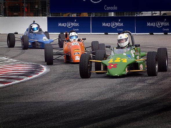 racing in Toronto