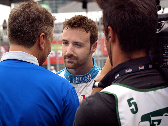 James Hinchcliffe at the Toronto Honda Indy