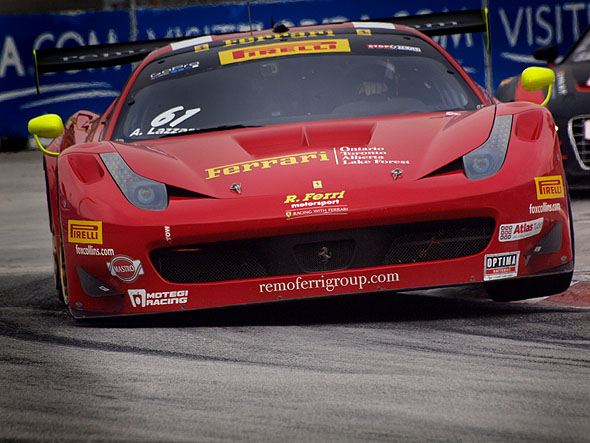 Pirelli World Challenge race in Toronto