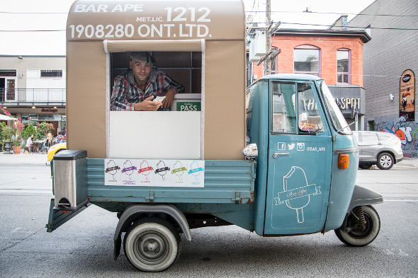 New Toronto Food Truck Serves Gelato On A Stick