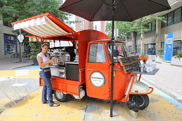 coffee food truck