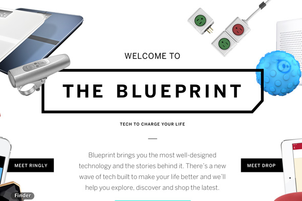New toronto online store sells gadgets of the future for Blueprint online