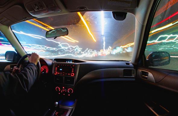 late night drive toronto