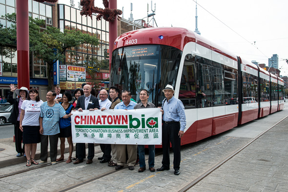 new ttc streetcar
