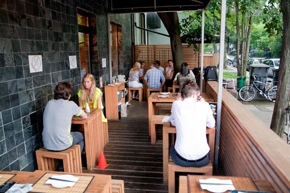 restaurant patios toronto