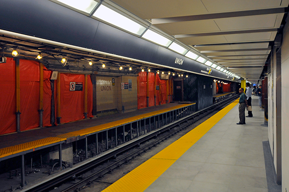 Union Station platform