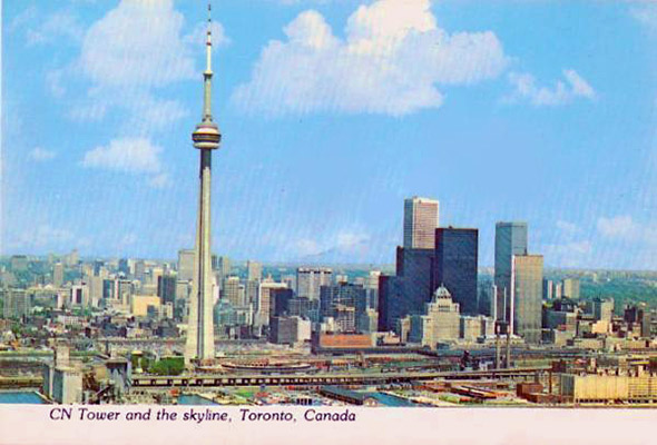 Toronto Postcards From The 1980s