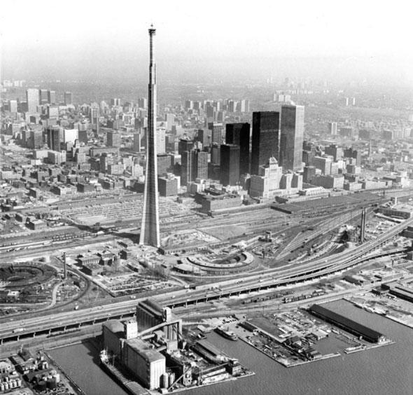 Toronto aerial 1974