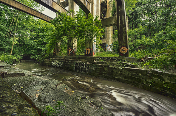 The top 5 ravines in toronto blogto blog trout lake for Landscaping rocks windsor ontario