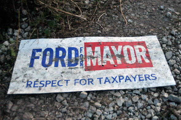 ford mayor sign