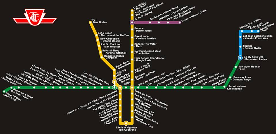 Subway Stations Map
