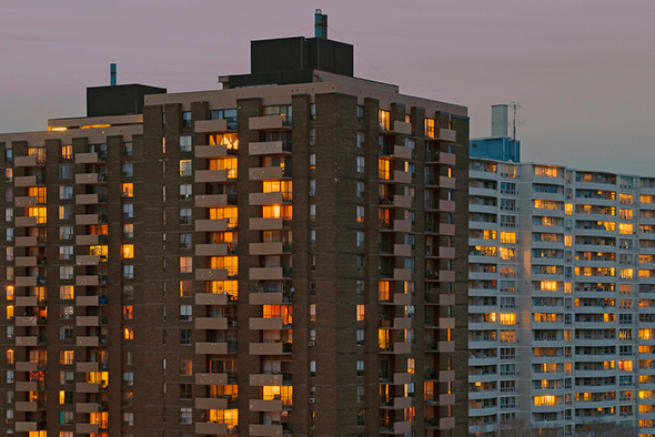 apartment building rating toronto