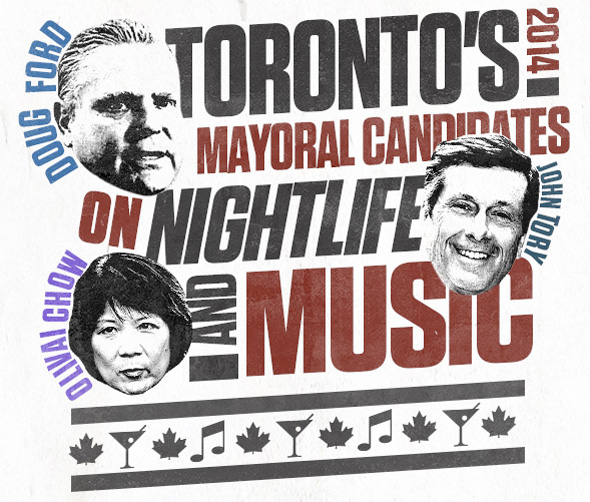 Music Toronto election