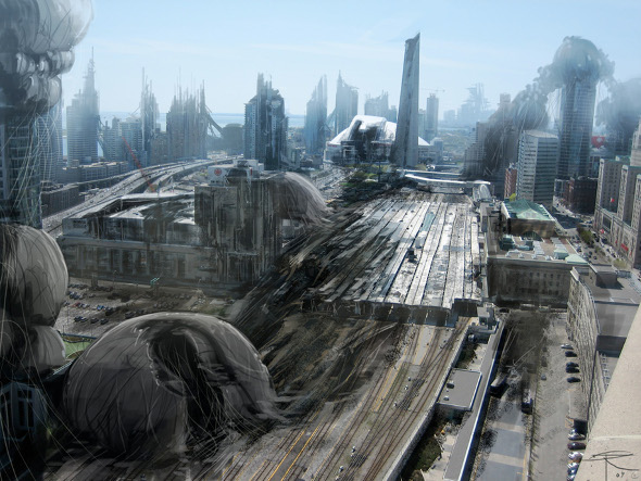 What A Post Apocalyptic Toronto Might Look Like
