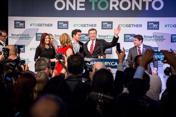 Toronto election results 2014