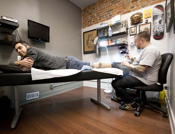 The top 10 tattoo artists in toronto for Tattoo shops los angeles