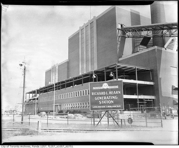 toronto hearn generating station