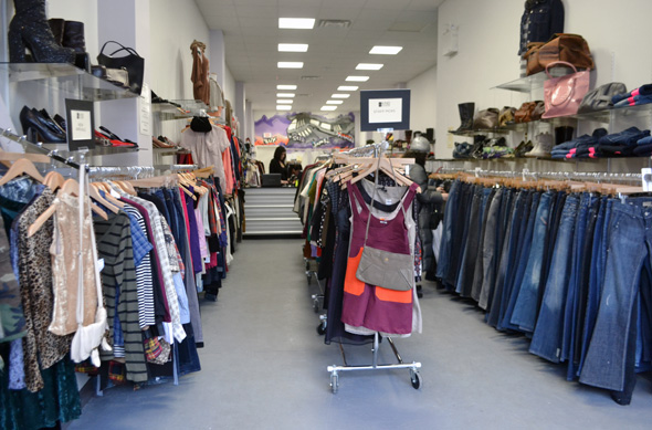 Pay half clothing store locations