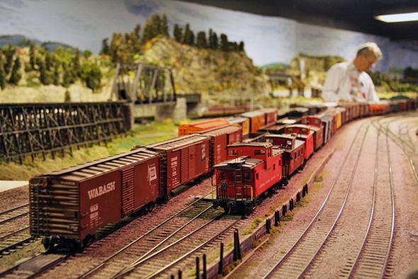 model trains toronto
