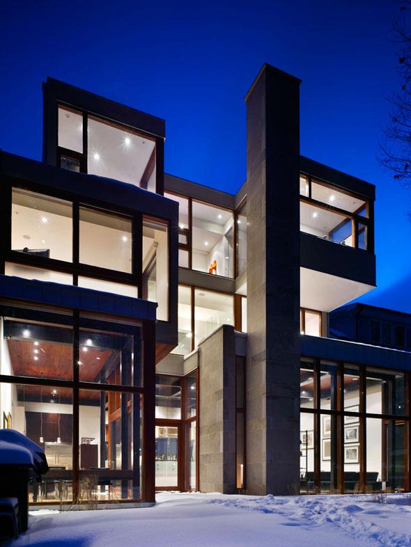 toronto ravine house