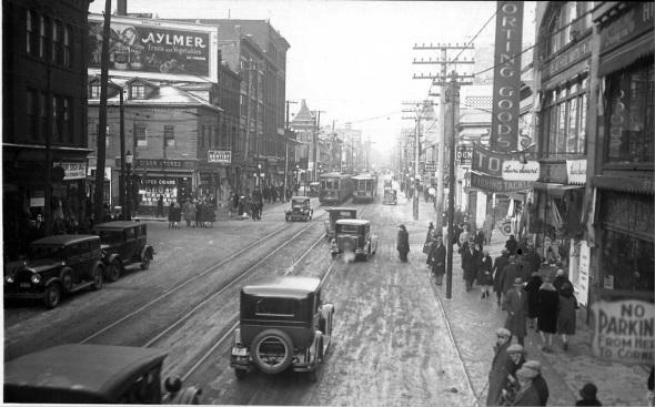 What Yonge Street Used To Look Like In Toronto