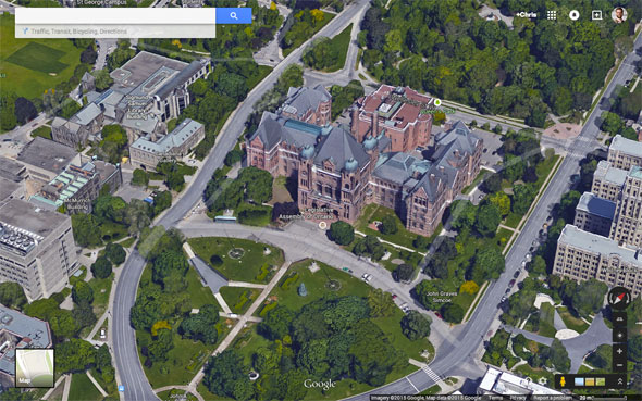 Toronto Gets The 3d Treatment On Google Maps