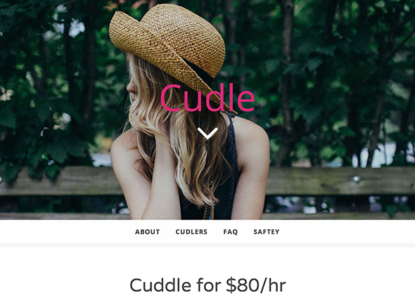 Toronto website to sell cuddles for $80 an hour