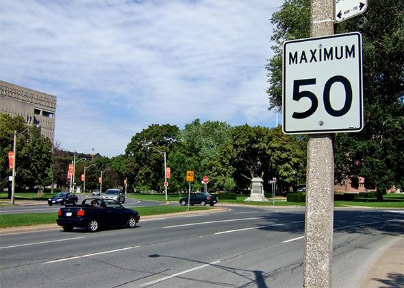 speed limit toronto
