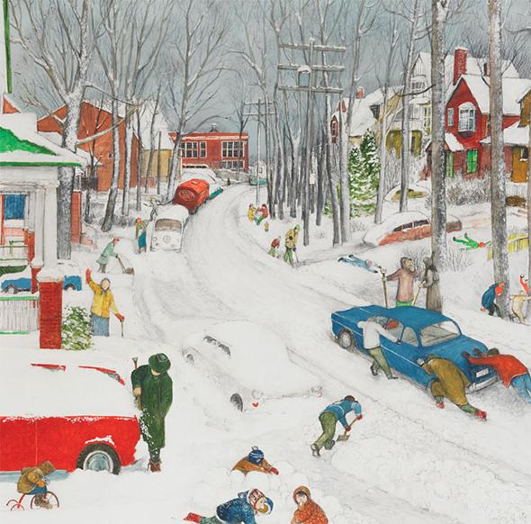 William Kurelek Paintings For Sale