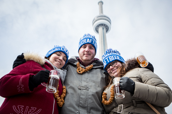 40 frosty photos from toronto 39 s winter beer festival. Black Bedroom Furniture Sets. Home Design Ideas