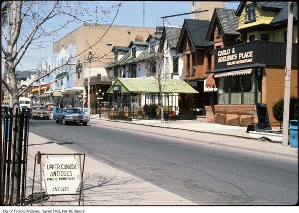 toronto mirvish village