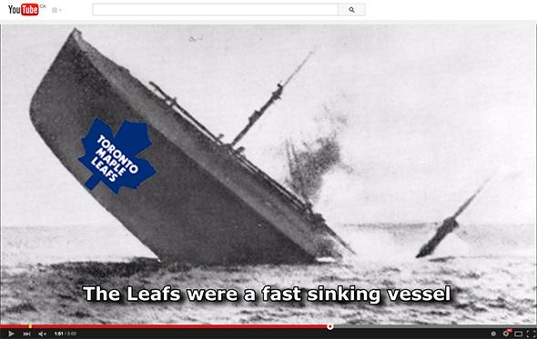 Wreck Maple Leafs Season