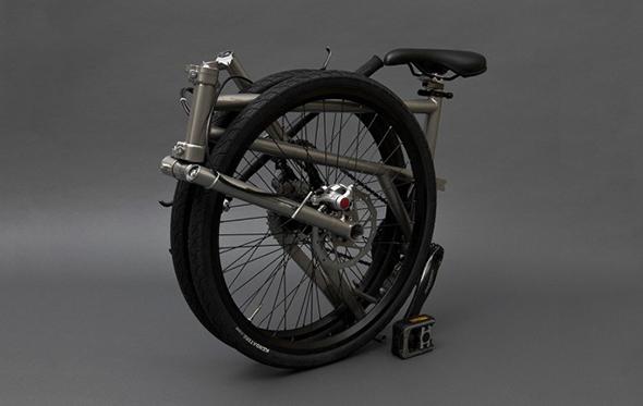 helix folding bike