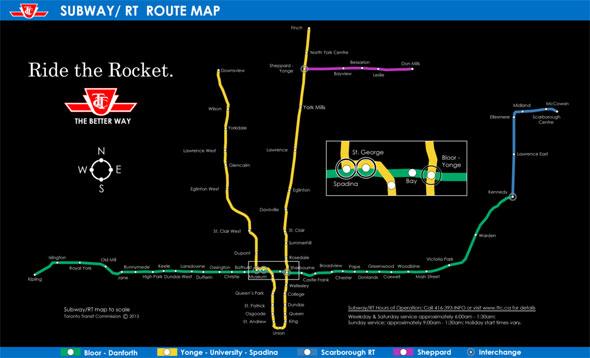 5 weird and wacky ttc subway maps