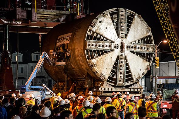 tunnel boring machines toronto