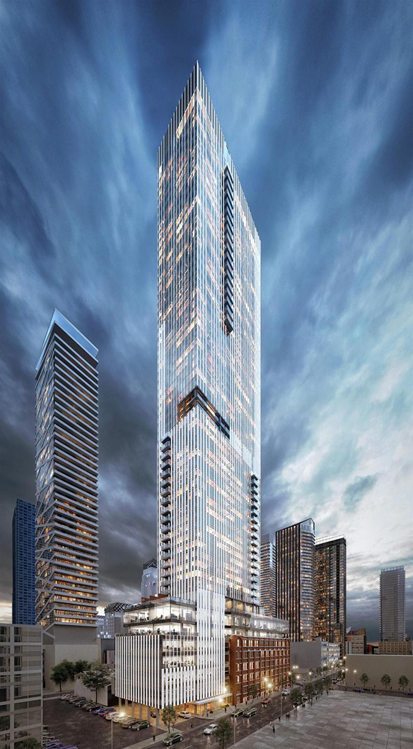 Stunning new tower proposed for adelaide and duncan for Architecture jobs adelaide