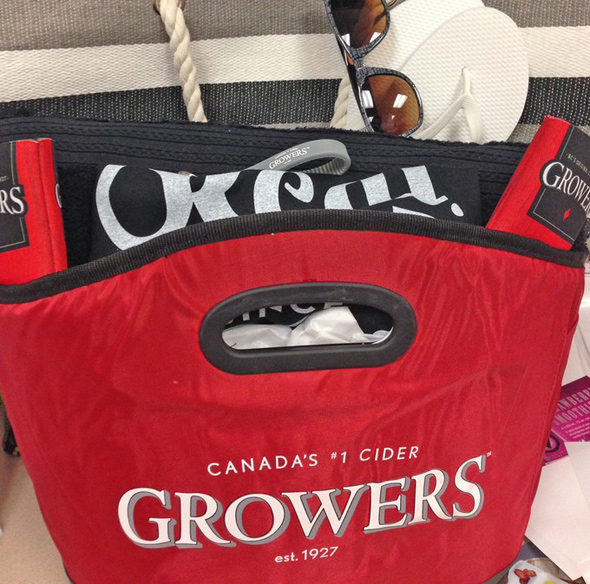 growers cider summer getaway pack