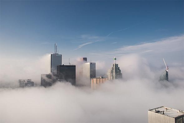 day fog toronto