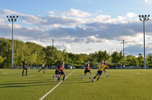 outdoor sports fields toronto