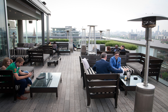 The best rooftop patios in toronto for Hotels with sex furniture