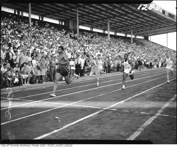 sporting events history toronto