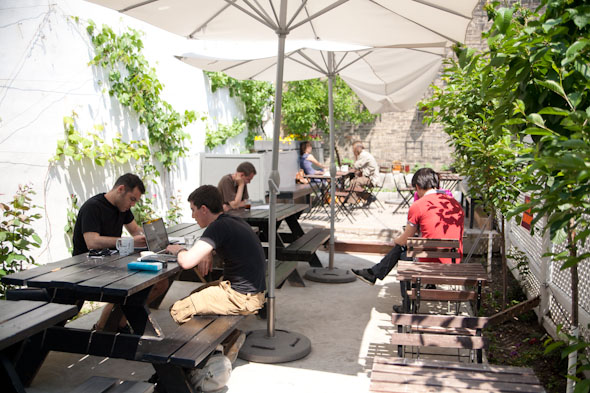 The Best Cafe Patios in Toronto