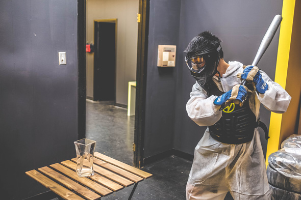 Now you can smash things in Toronto's first rage room