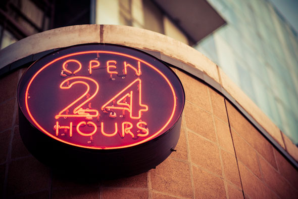 24 hour restaurants toronto