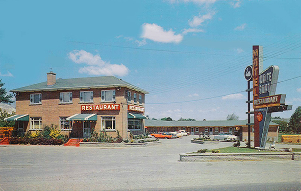 Universal Auto Plaza >> The lost motels of Toronto