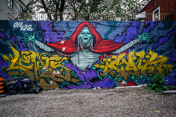 Best Places To Visit In Toronto >> 5 places to check out graffiti and street art in Toronto